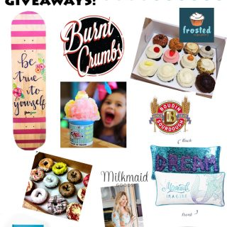 10 DAYS OF GIVEAWAYS!