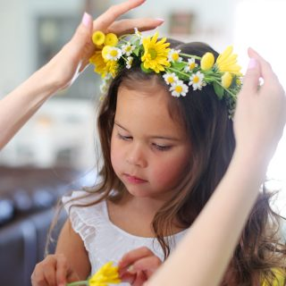 DIY Spring Flower Crowns