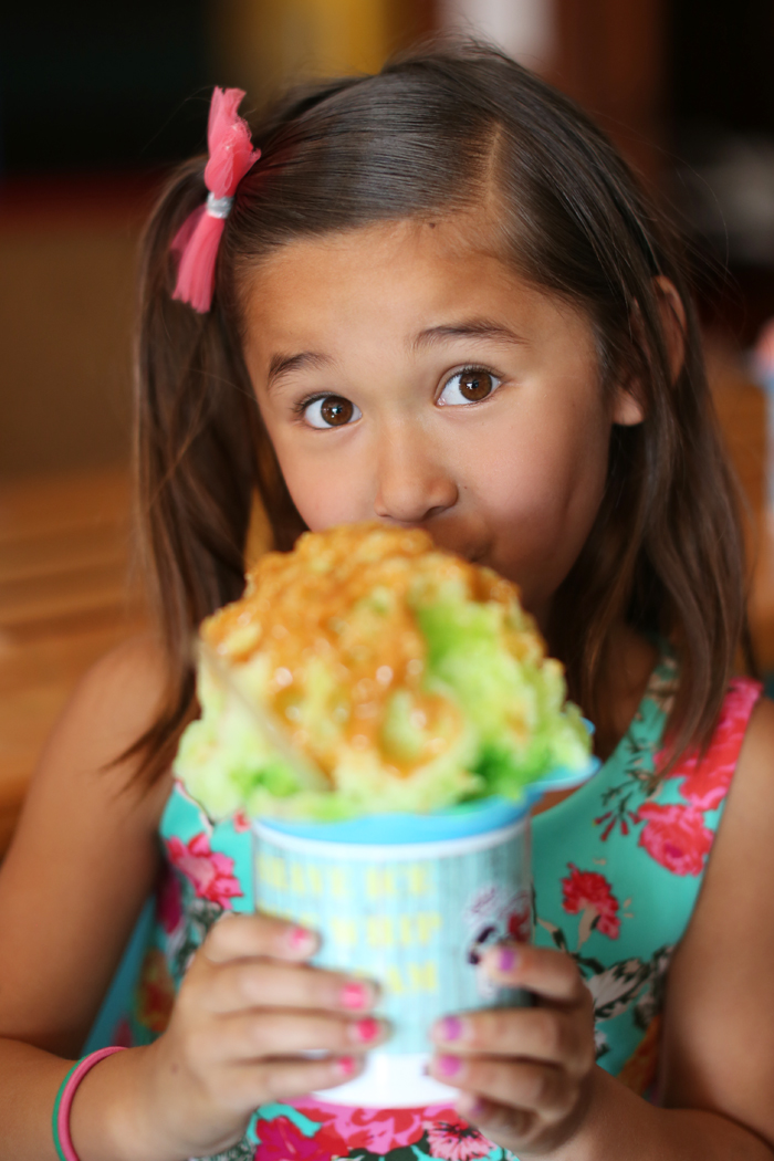 Hula Girls Shaved Ice in Huntington Beach