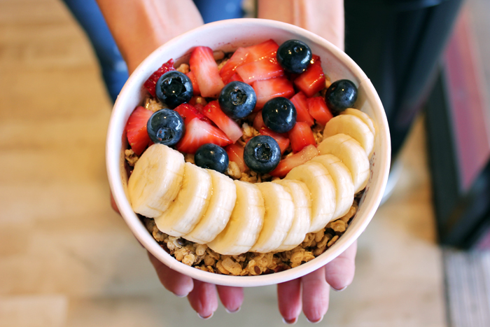Nekter Juice Bar Acai Bowl