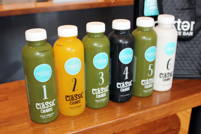 Nekter Juice Bar Cleanse