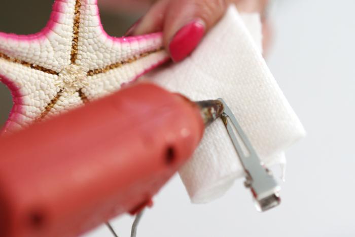 DIY Starfish Hair Accessories