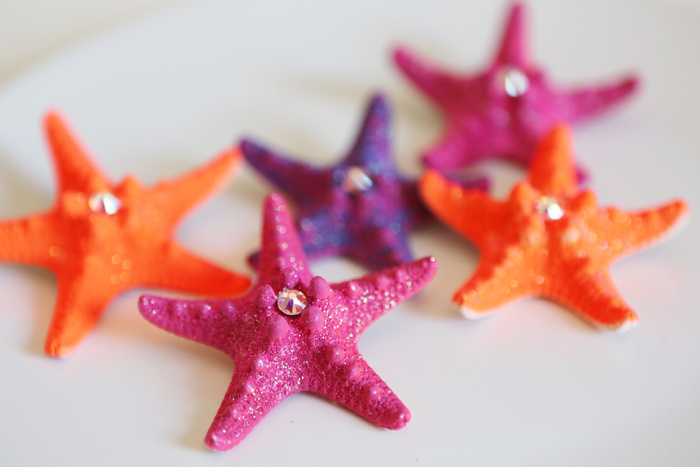 DIY Starfish Hair Accessories