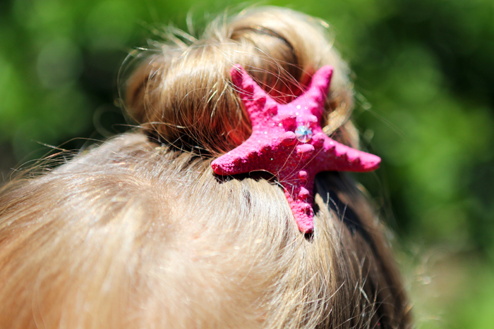 DIY Mermaid Hair Clips