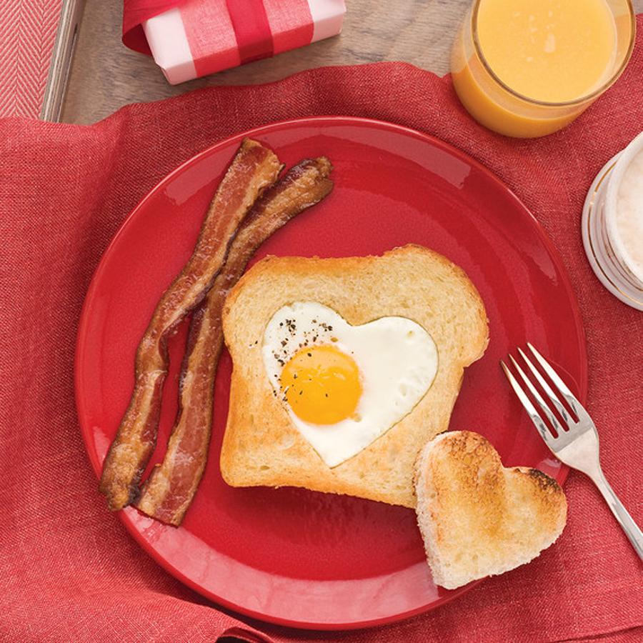 Martha Stewart Heart Breakfast