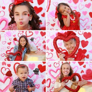 DIY VALENTINES PHOTO BOOTH PARTY!
