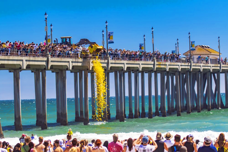 Huntington Beach Duck-A-Thon 5 FUN things to do in Huntington Beach THIS weekend May 19-20