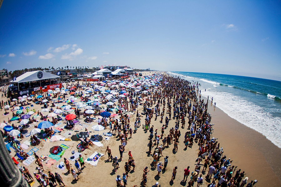 5 FUN things for FAMILIES to do at the VANS US OPEN OF SURFING in Huntington Beach July 28- Aug 5, 2018
