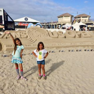 5 FUN things for FAMILIES to do at the VANS US OPEN OF SURFING in Huntington Beach July 28- Aug 5, 2018!