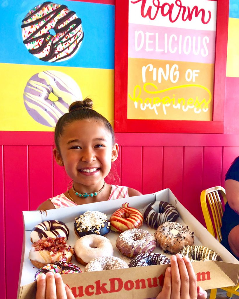 FREE DUCK DONUTS ON NATIONAL DONUT DAY