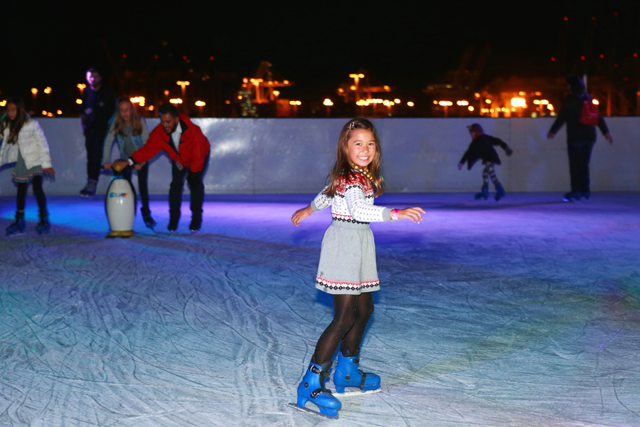 Queen Mary Christmas Ice Skating