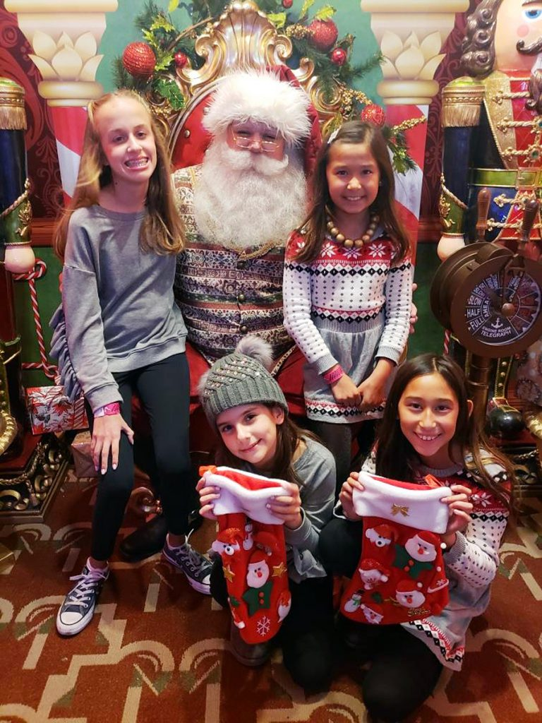 Christmas at the Queen Mary Pictures with Santa